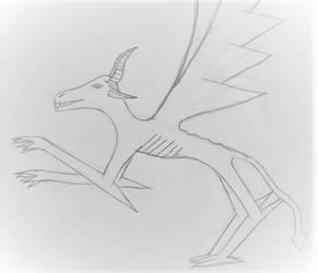 Demon true form  by clowe98