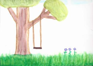 Tree Swing by clowe98