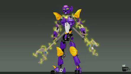 Lucaira (Bionicle, Friend's OC) by TheMugbearer