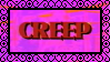 Creep Stamp f2u by snailgoth