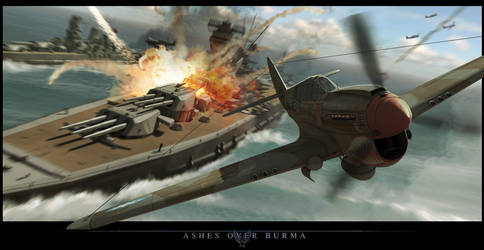 Ashes Over Burma by BrianSamms