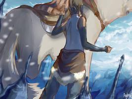 Korra's Back by ayubee