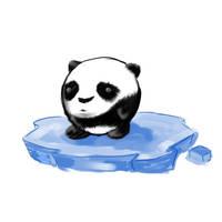 Panda by soul-drawer