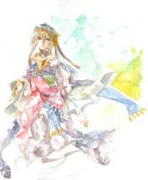 watercolor by Hatori-K