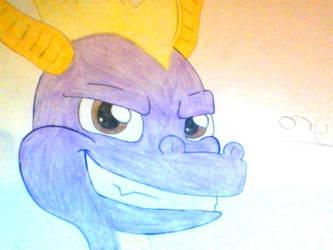 Spyro The Dragon Fanart by LeeseyBoy