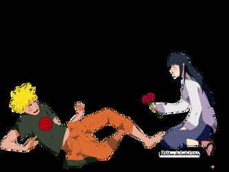 Fanart: Naruto and Hinata by NLeicam