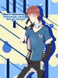 Fanart: Aihara Shintarou by NLeicam