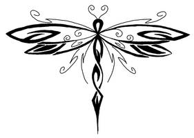 Dragonfly tattoo by designerdragon