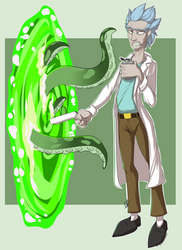 Time to get Schwifty by Sparky-corpsee