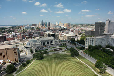 Kansas City By Day by lBlanc