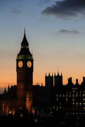 Elizabeth Tower by lBlanc