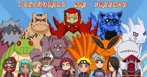 Jinchuriki Are Friends by RioHouseofimagi