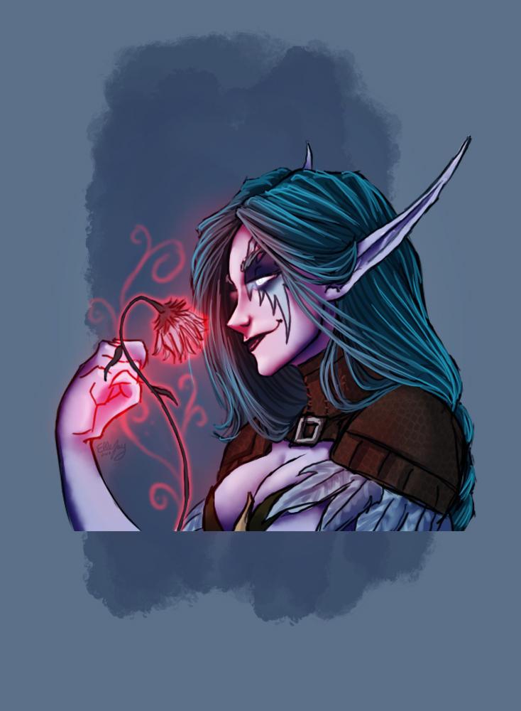 Bad Druid Wow By Ellejayart On Deviantart