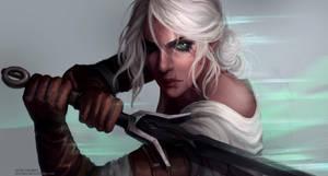 The Witcher 3 - Ciri by Astri-Lohne