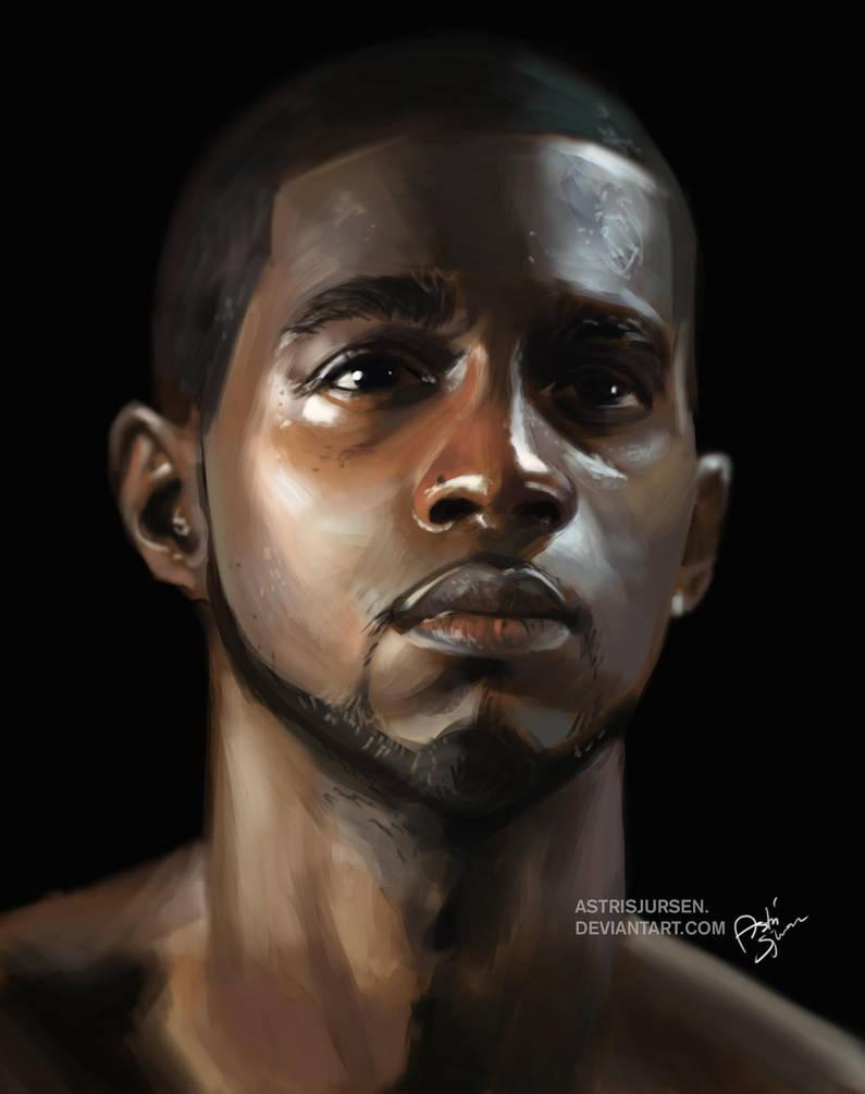 Portrait Study #3 by Astri-Lohne