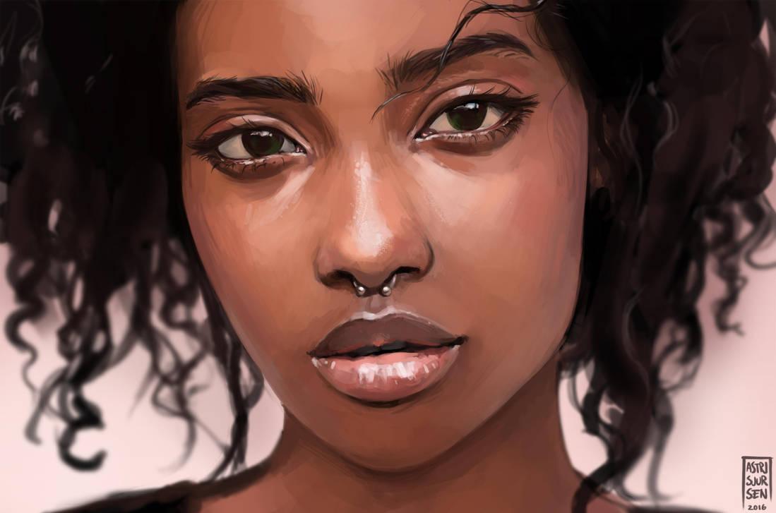 Portrait Study #6 by Astri-Lohne
