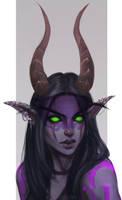 Commission: Demon Hunter by Astri-Lohne