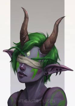 Commission: Demon Hunter II by Astri-Lohne