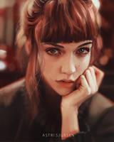Portrait Study #9 by Astri-Lohne