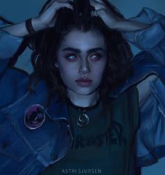 Blue by Astri-Lohne