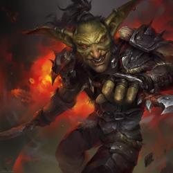 Goblin Rogue by Astri-Lohne