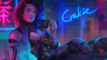 Tea Break by Astri-Lohne