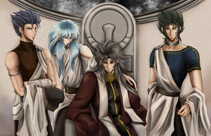 saga and the middles by akinominori