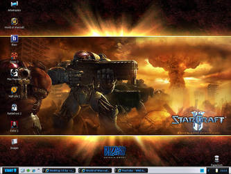 Actuall Desktop by JayNut