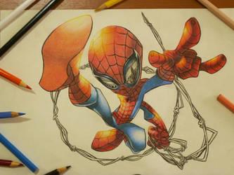Spider Man by aquaticpig
