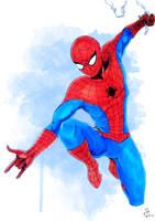 Spider Man Classic Costume by aquaticpig