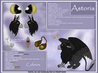 Astoria Reference Sheet by OkamiFlautist
