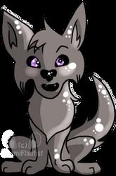 Random Wolf by OkamiFlautist