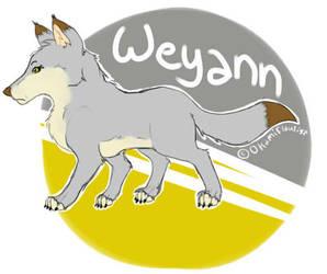 Weyann 2015 Sticker by OkamiFlautist