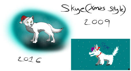 Draw this Again- 7 years later by OkamiFlautist
