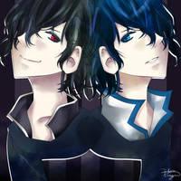 Vocaloid::Dark+Light by tsubasakurozawa