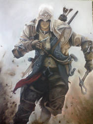 Connor Kenway - Assassin's Creed III by montonico