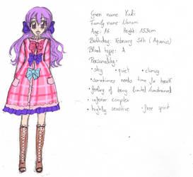 Nanami Yuuki [Character Sheet] by Sakuchu