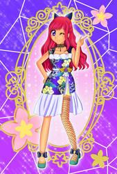 Shuniji Hanabi BA Idol Card by Sakuchu