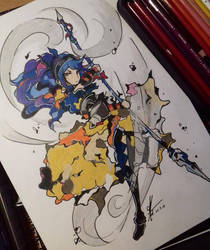 Oboro from Fire Emblem by MirrorsArt