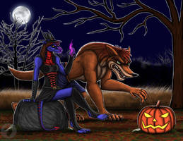 Halloween 2017 by BlueRavenfire