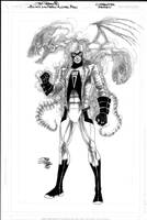 Black Lanrern ANIMAL MAN by JoePrado2010