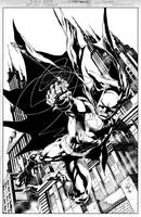 BATMAN Issue 3 COVER by JoePrado2010