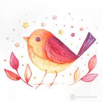 Summer Birdy by mia-sko