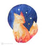 Autumn Fox by mia-sko