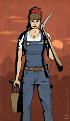 Mine woman by LeadJewelry