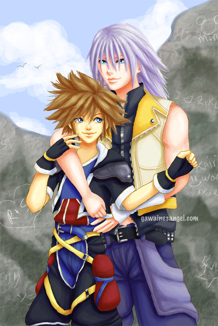 Together -Riku x Sora- by GawainesAngel