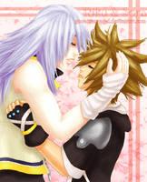 -KH2- First Kiss by GawainesAngel