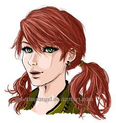 -FF13- Vanille sketch by GawainesAngel