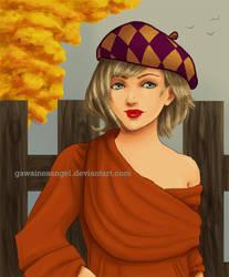 -FF12- Fall Days by GawainesAngel