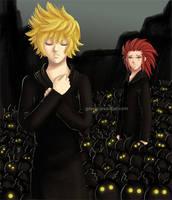 -KH2- Darkness by GawainesAngel